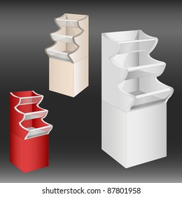New display. Vector illustration