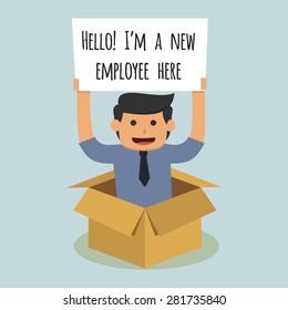 new employee images stock photos vectors shutterstock