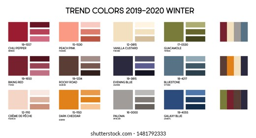 Fall 2020 Color Trends.Imagenes Fotos De Stock Y Vectores Sobre Trends 2020