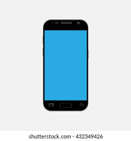 A new generation of smart phone Vector Mock Up and fully Re-size-able and Scale-able with high resolution great for web design showcase, product, presentations, advertising in modern style.