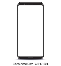 New Generation Smart Phone vector illustration isolated on white background.