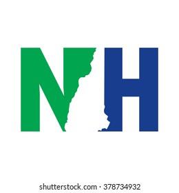 new hampshire logo vector.