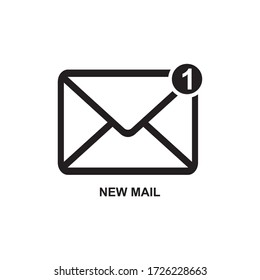 NEW MAIL ICON , NEWSLETTER ICON