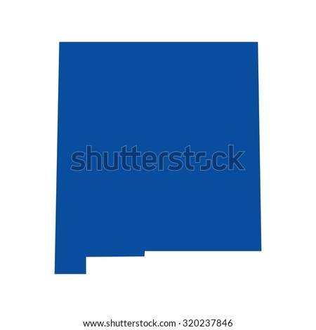 Free New Mexico Map.New Mexico Map Stock Vector Royalty Free 320237846 Shutterstock