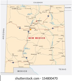Map Of Texas New Mexico.Texas New Mexico Map Stock Vectors Images Vector Art Shutterstock