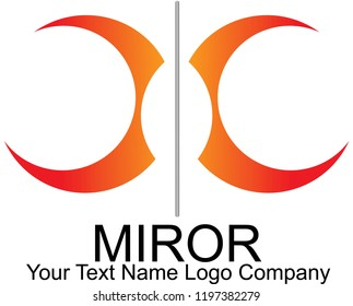 The new miror logo for company
