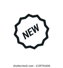 New Modern Simple Outline Vector Icon