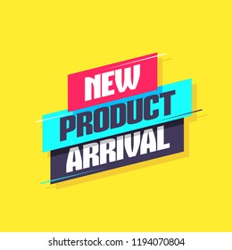 New Product Arrival Label