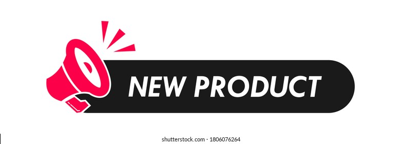 New Product logo design template illustration. Suitable for product label