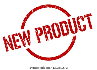 new product red round stamp