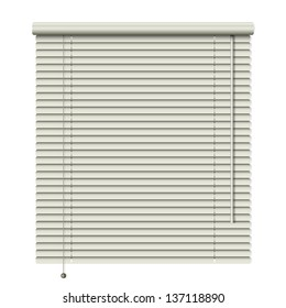 new realistic home related blinds isolated on white background can use like modern object