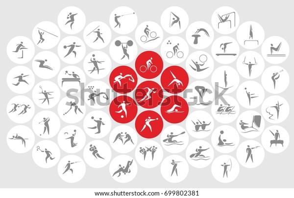Новые спортивные иконы и спортивные символы, флаг Японии