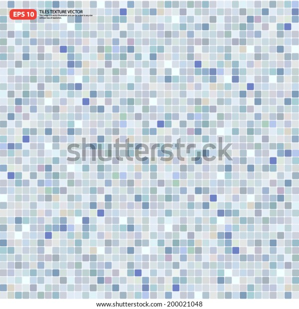 New square tile texture of wall and floor, tile interior of bathroom, pool, kitchen, vector