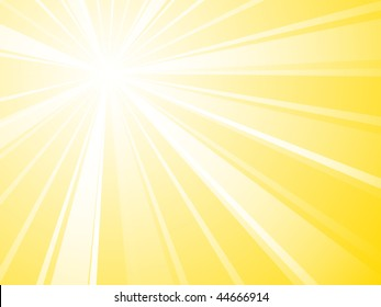 New sunburst vector