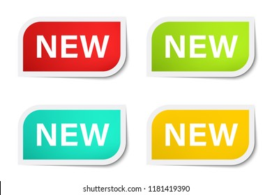 New tag business and banner vector.