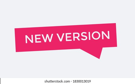 new version text banner. new version buttons. new version colorfull. new version