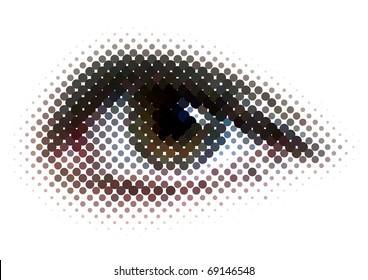 new vision of human eyes