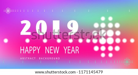 new year 2019 the calendar of notebooks modern minimalistic happy new year creative