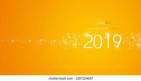 Happy New Year Orange 44
