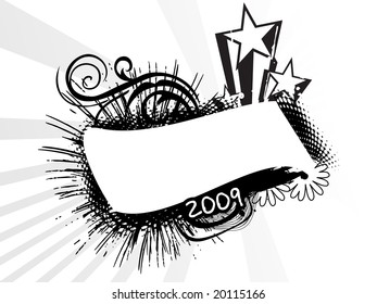 new year banner design
