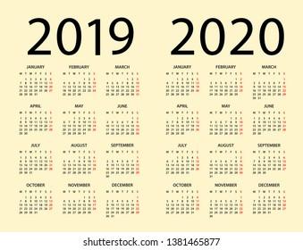 Calendario 2020 Brasileiro Com Feriados.Month Planning Images Stock Photos Vectors Shutterstock