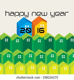 new year celebration concept vector
