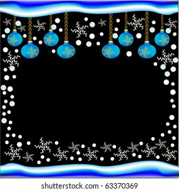 New year and Christmas a beautiful background a vector