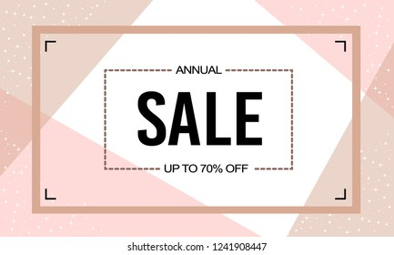 New Year Christmas Offers Exclusive Abstract Vector Sticker with sales icon Background