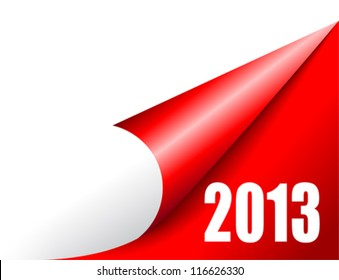 New year coming, vector illustration
