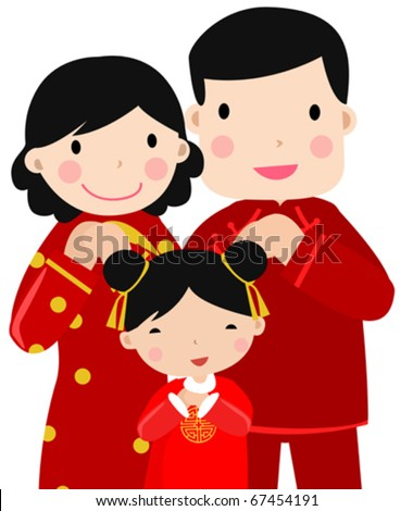 new year greetings_happy familyart