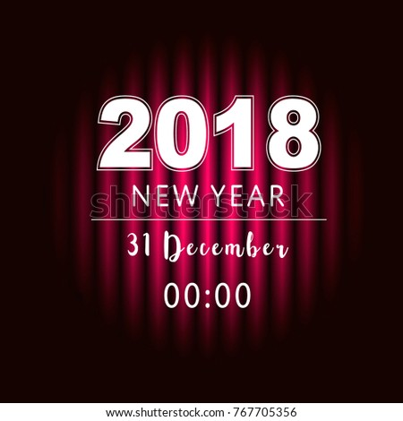 new year party design banner event stock vector royalty free