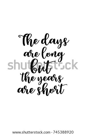 New Year Quote Hand Drawn Holiday Stock Vector Royalty Free
