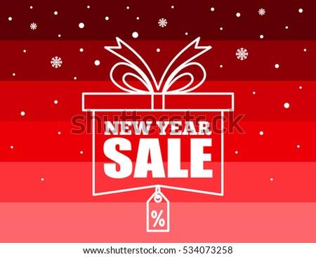 new year sale banner design