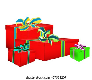 New Year's celebratory gifts give pleasure and good mood for the whole year