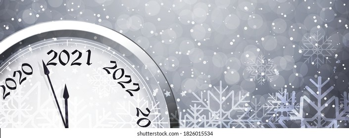 New Year's Eve 2021. Vector illustration.