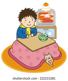 New Year's Eve / New Year in the kotatsu