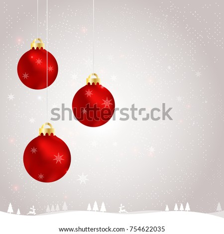 New Years Greeting Card Vector Illustration Stock Vector (Royalty ...