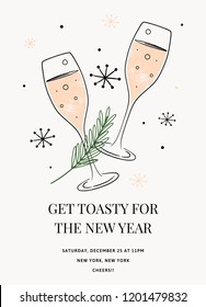 new years invitation template in vector holiday party invitation in vector new years invitation