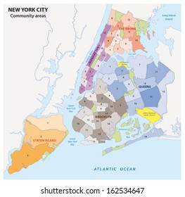 Five Boroughs New York City Stock Illustrations Images Vectors