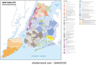 New York Borough Map Images Stock Photos Vectors Shutterstock