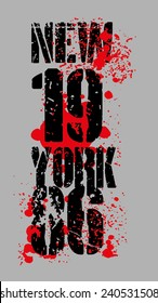 new york city graphic design vector art