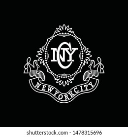 New York City graphic for t-shirt, Tee Design For Print - Vector