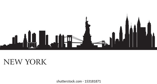 building outline stock vector illustration of skyline