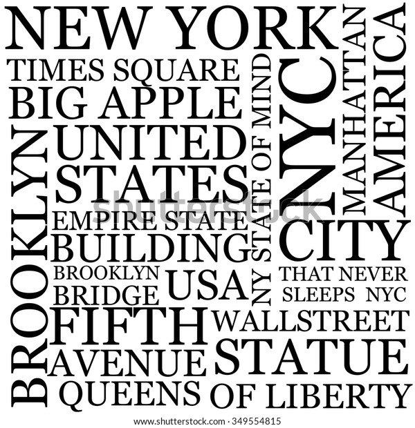 Vector De Stock Libre De Regalías Sobre New York City