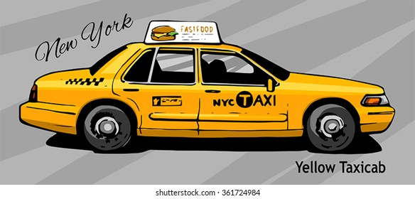 Taxi Cab Images, Stock Photos & Vectors | Shutterstock