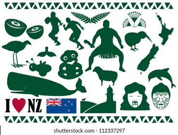 New Zealand Icon Vector