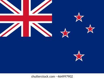 New Zealand Vector Flag