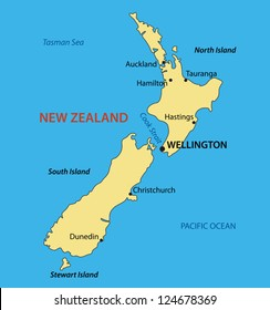 Map Of New Zealand Christchurch.New Zealand Map Images Stock Photos Vectors Shutterstock