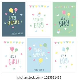 12 x Boys Blue New Baby Thank You Birth Announcements New Born CardsH0561