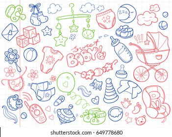 bcd744862 baby stuff vector Images